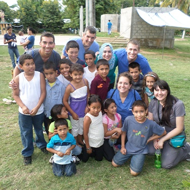 Doctor Duarte and other dentists and dental team members on Honduras Mission trip