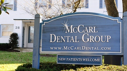 McCarl Dental Group sign