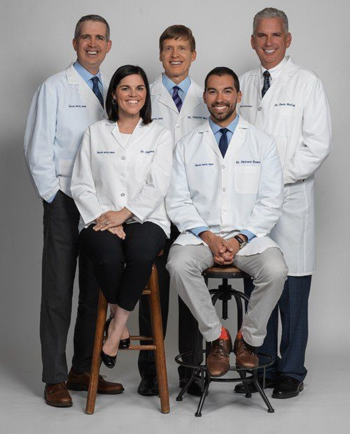 The dentists of McCarl Dental Group