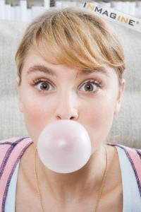 Sugary chewing gum can increase your risk of tooth decay.