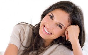 Woman with a beautiful smile thanks to cosmetic dentistry services in greenbelt, md