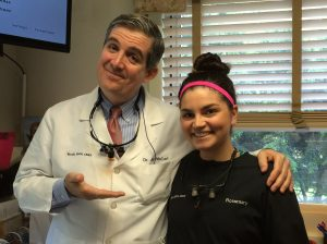 Dr. Jay McCarl, Greenbelt Dentist and Rosemarie Lee, Dental Hygienist
